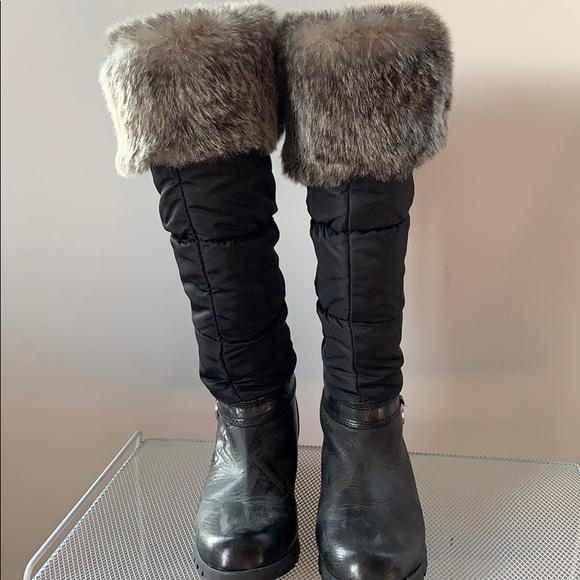 Michael Kors Winter Boot W Faux Fur